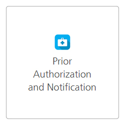 Prior Authorization and Notification tool logo